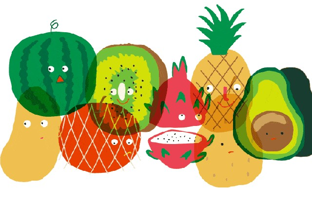 beautiful fruit gif,fruit,apple,strawberry,small pictures