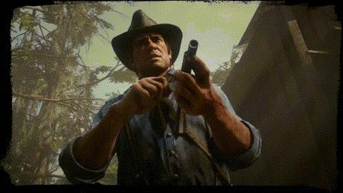 red dead 2 funny gif